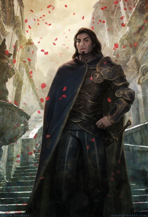 Aurvandil, the Elf King. Named as being the bringer a light, an allusion to his side of Forest Heart being in light.